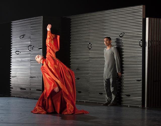 Royal Swedish Ballet Juliet and Romeo Daria Ivanova as Rosalina and Anthony Lomuljo as Romeo Photo by Gert Weigelt