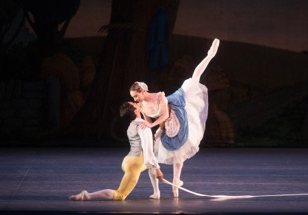 "Isabella Boylston and Jeffrey Cirio in ""La Fille mal gardée"" Photo Rosalie O'Connor"