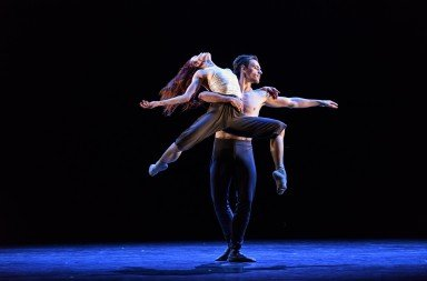 "Natalia Osipova, Sergei Polunin in ""Silent Echo"" Photo Bill Cooper"