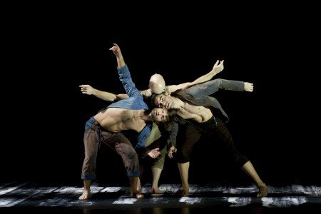 "L.A. Dance Project dancers in ""Harbor Me"" by Siddi Larbi Cherkaoui Photo Laurence Philippe"