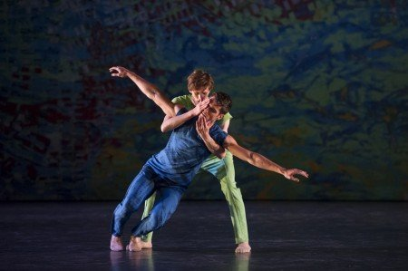 "L.A. Dance Project dancers in Benjamin Millepied's ""On The Other Side"" Photo Laurence Phillipe"