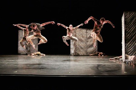 "Dancers of RIOULT Dance NY in ""Cassandra's Curse"" Photo Eric Bandiero"