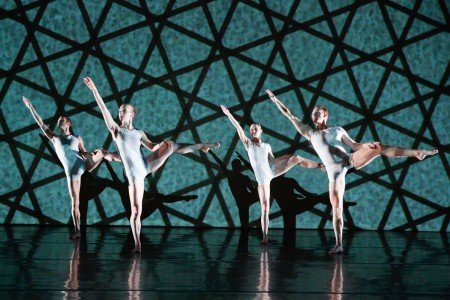 "Dancers of RIOULT Dance NY in ""Polymorphous"" Photo Eric Bandiero"