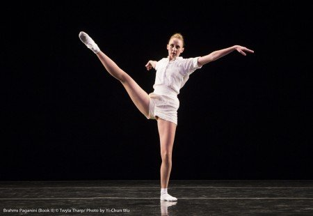 "Kaitlyn Gilliland in ""Brahms Paganini"" by Twyla Tharp Photo Yi-Chun Wu"