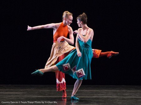 "Kaitlyn Gilliland and Eva Trapp in ""Country Dances"" by Twyla Tharp Photo Yi-Chun Wu"