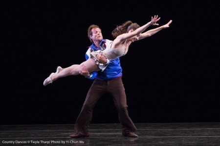 "Amy Ruggiero and John Selya in ""Country Dances"" by Twyla Tharp Photo Yi-Chun Wu"