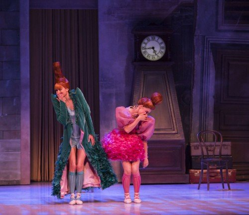 "Ingrid Gow and Eloise Fryer in ""Cinderella"" Photo Kate Longley"