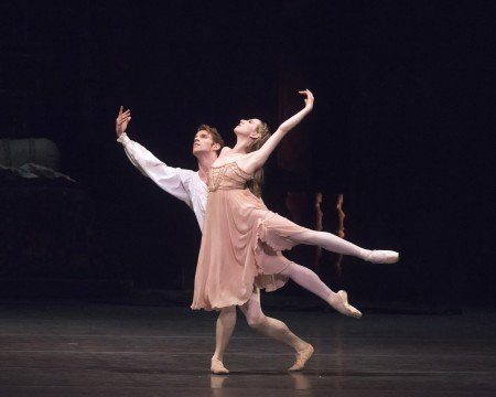 "Isabella Boylston and James Whiteside in ""Romeo and Juliet"" Photo Gene Schiavone"