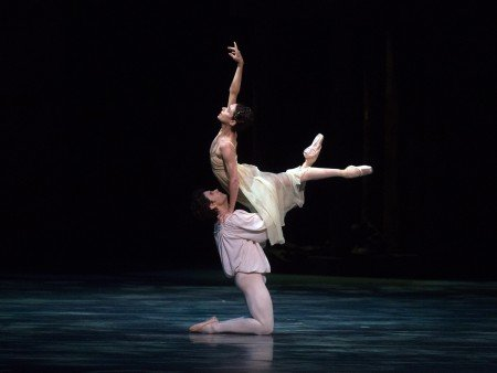 "Alessandra Ferri and Herman Cornejo in ""Romeo and Juliet"" Photo Rosalie O'Connor"