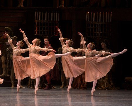 "Dancers of American Ballet Theatre in ""Romeo and Juliet"" Photo Rosalie O'Connor"