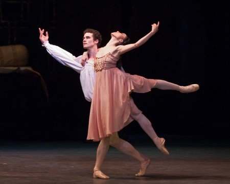 "Hee Seo and Cory Stearns  in ""Romeo and Juliet"" Photo John Grigaitis"