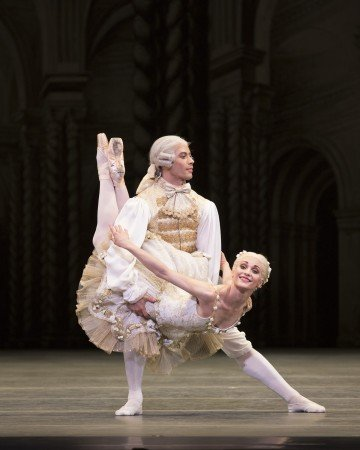 "Sarah Lane and Herman CornejoŽ in ""The Sleeping Beauty"" Photo Rosalie O'Connor."