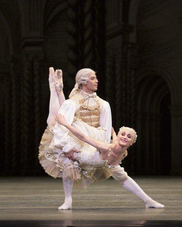 "Sarah Lane and Herman CornejoŽ in ""The Sleeping Beauty"" Photo Rosalie O'Connor."