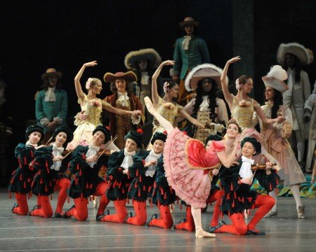 "Cassandra Trenary in ""The Sleeping Beauty"" Photo John Grigaitis"
