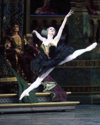 "Gillian Murphy in ""Swan Lake"" Photo Gene Schiavone"
