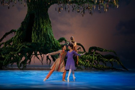 "Naoya Ebe and Jillian Vanstone in Christopher Wheeldon's ""The Winter's Tale"" Photo Rosalie O'Connor"