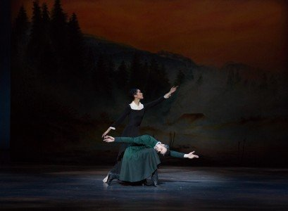 "Xiao Nan Yu and Piotr Stanczyk in Christopher Wheeldon's ""The Winter's Tale"" Photo Rosalie O'Connor"