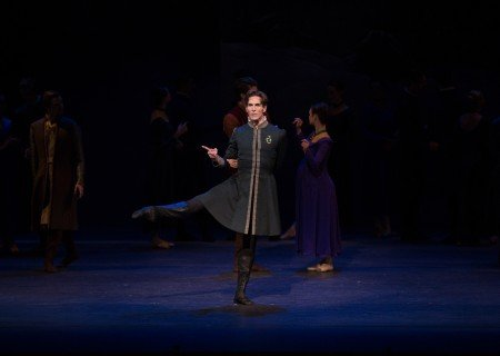 "Evan McKie in Christopher Wheeldon's ""The Winter's Tale"" Photo Rosalie O'Connor"