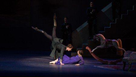 "Evan McKie and Jurgita Dronina in Christopher Wheeldon's ""The Winter's Tale"" Photo Rosalie O'Connor"