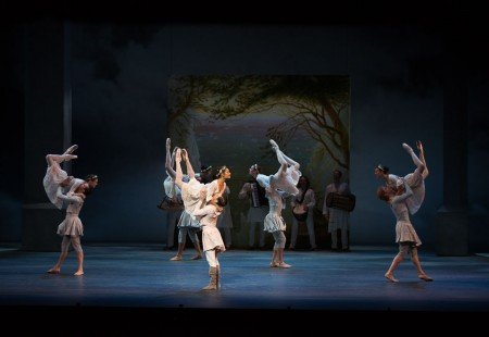 "Artists of The National Ballet of Canada in Christopher Wheeldon's ""The Winter's Tale"" Photo Rosalie O'Connor"