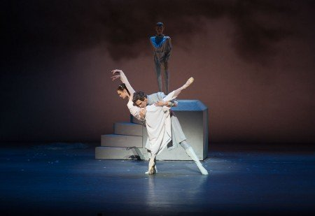 "Jurgita Dronina and Evan McKie in Christopher Wheeldon's ""The Winter's Tale"" Photo Rosalie O'Connor"