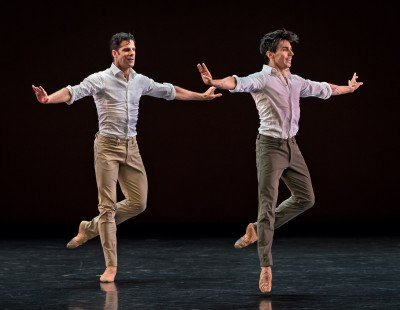 "Marcelo Gomes and Joaquin de Luz in Marcelo Gomes's ""Tristesse"" Photo Michael Khoury"