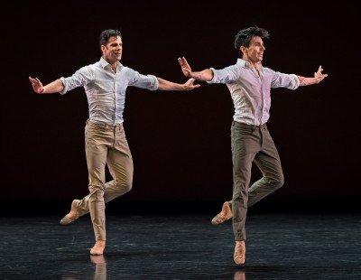 """Marcelo Gomes and Joaquin de Luz in Marcelo Gomes's """"Tristesse"""" Photo Michael Khoury"""
