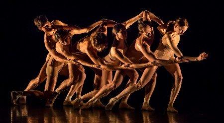 """Mariinsky Ballet dancers in Vladimir Varnava's """"Clay"""" Photo Michael Khoury"""