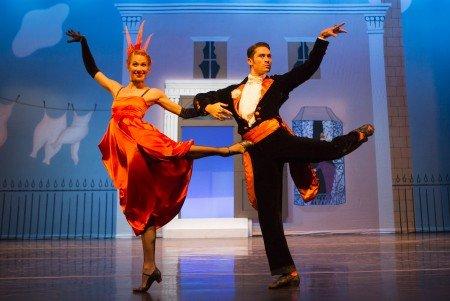 "Sarasota Ballet's Danielle Brown and David Tlaiye in Sir Frederick Ashton's ""Facade"" Photo Yi-Chun Wu"