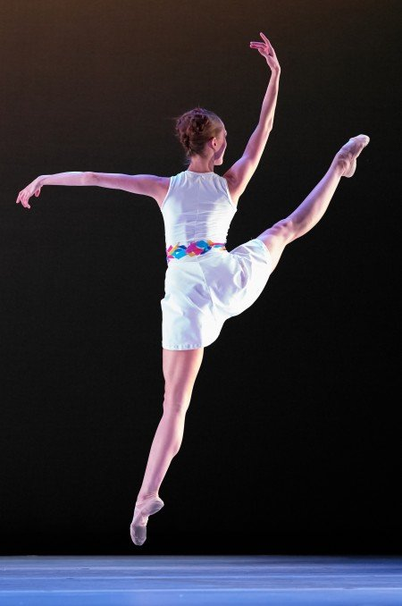 Beth Ann Maslinoff in Nicole Haskins' With Alacrity Photo: David DeSilva