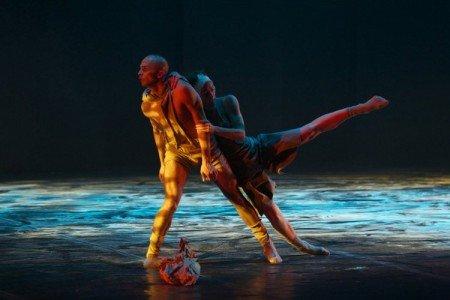 "Provincial Dances Theater dancers in Tatiana Baganova's ""Sepia"" Photo courtesy Provincial Dances Theater"