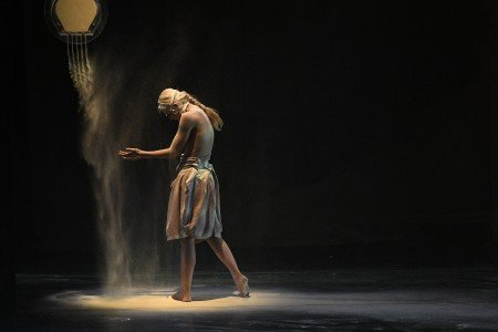 "Provincial Dances Theater dancer in Tatiana Baganova's ""Sepia"" Photo Grant Halverson"