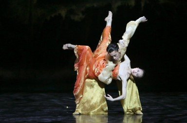 Shanghai Ballet in Echoes of Eternity Wu Husheng and Qi Bingxue Photo Chen Wen