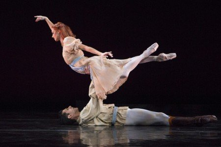 "Sarasota Ballet's Danielle Brown and Ricardo Graziano in Sir Frederick Ashton's ""The Walk to the Paradise Garden"" Photo Yi-Chun Wu"