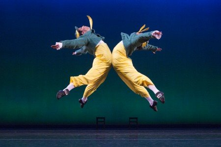 "Sarasota Ballet's Alex Harrison and Logan Learned in Sir Frederick Ashton's ""Tweedledum and Tweedledee"" Photo Yi-Chun Wu"