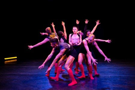 "Whim W'Him dancers in ""From Under the Cork Tree"" choreographed by Lauren Edson Photo Bamberg Fine Art"