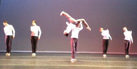 "ARC Dance Company in Daniel Ojeda's ""A Little Less Than A Human Being"" Photo ARC Dance"