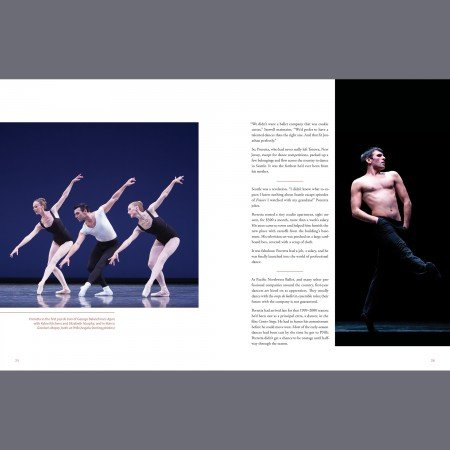 """Interior image from """"Out There: Jonathan Porretta's Life in Dance"""" Photos Angela Sterling"""