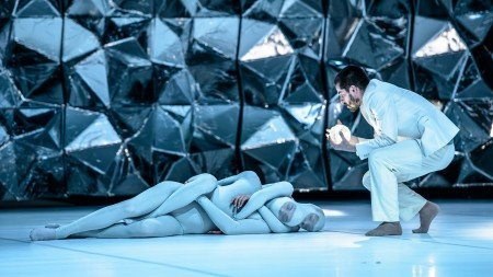 "Members of Danish Dance Theatre in Tim Rushton's ""Black Diamond"" Photo Soren Meisner"