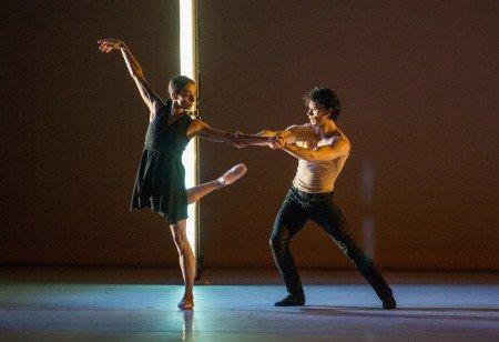 "Alessandra Ferri and Herman Cornejo in Wayne McGregor's ""Witness"" Photo Stephanie Berger"