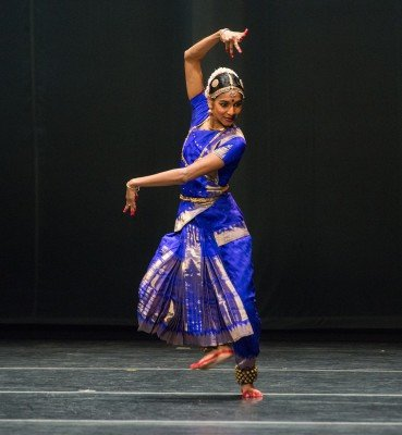 "Shantala Shivalingappa in ""Shiva Tarangam"" choreographed by Shantala Shivalingappa Photo Stephanie Berger"