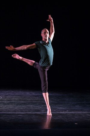 "Men in Dance Festival dancer Bruce McCormick in McCormick's ""One Man's Voice"" Photo Joseph Lambert/JazzyPhoto"