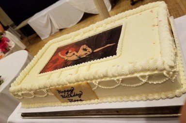 Diana Byer Legacy Birthday Celebration:  The Cake         Photo Jerry Hochman