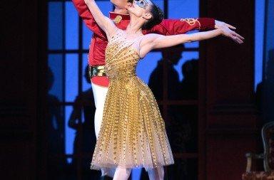 San Francisco Ballet's Maria Kochetkova and Joseph Walsh in Christopher Wheeldon's Cinderella, photo by Erik Tomasson