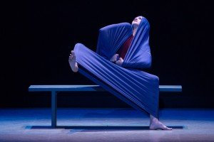 Carla Korbes in Martha Graham's Lamentation, photo by Teresa Wood