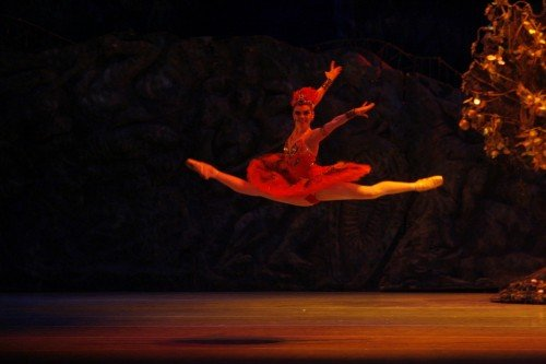Tatiana Tkachenko as the Firebird. State Academic Mariinsky Theatre Photo Natasha Razina
