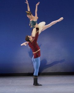The Suzanne Farrell Ballet, Stars and Stripes, choreography by George Balanchine  Photo by Paul Kolnik