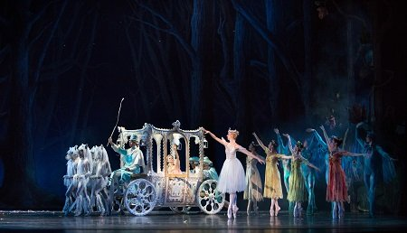 Pennsylvania Ballet Artists of Pennsylvania Ballet in Ben Stevenson's Cinderella Photo: Alexander Iziliaev