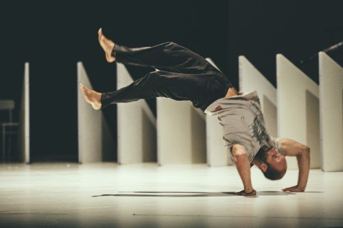 """Fractus V"" by Sidi Larbi Cherkaoui Photo: Filip Van Roe"