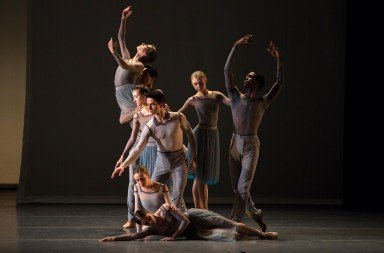 "American Ballet Theatre dancers  in Jessica Lang's ""Her Notes""       Photo Rosalie O'Connor"